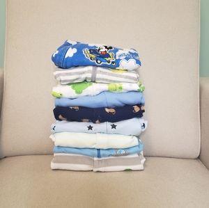 Bundle of Baby Boy Sleepers